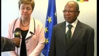Visite de travail du 1er ministre par intérim Django Cissoko en Belgique