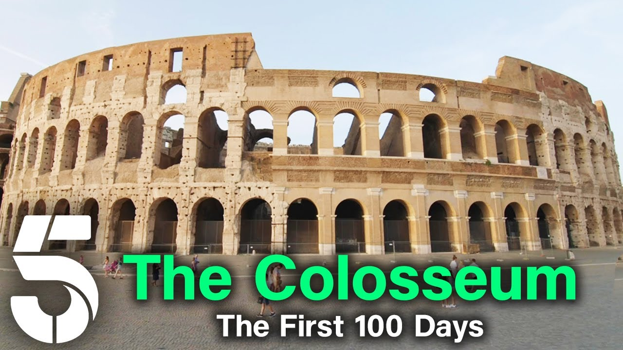 The History Of The Roman Colosseum | Eight Days That Made Rome | Channel 5 #AncientHistory