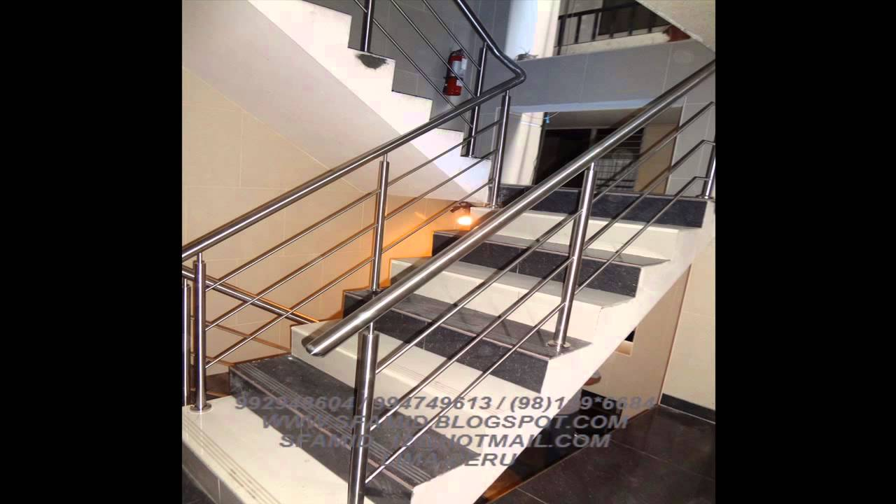 Lavaderos mesas barandas acero inoxidable techos - Baranda de acero inoxidable ...