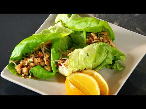Spicy Asian Lettuce Wraps | Cooking Light