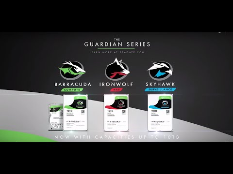 The Guardian Series - Seagate's 10TB Hard Drives
