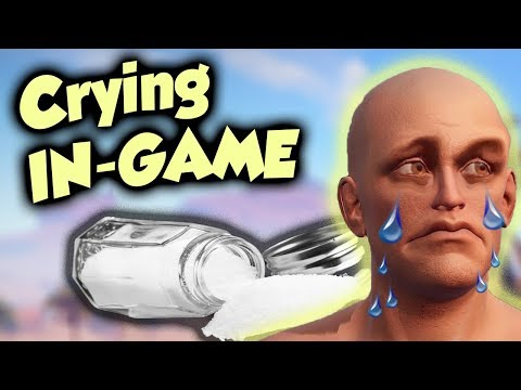 TOXIC KID starts CRYING when being RAIDED -  Rust
