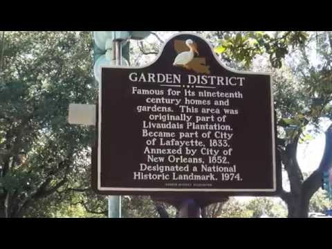 A Walking Tour of the Garden District New Orleans Louisiana