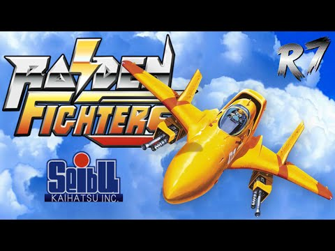 Raiden Fighters Arcade Longplay [HD 720p 60FPS]
