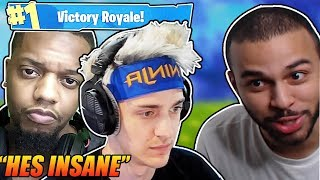 Ninja & King Richard share their thoughts about TSM Hamlinz - Fortnite highlights