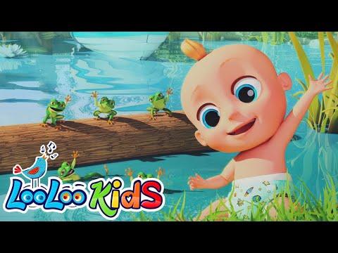 LooLoo Kids – Five Speckled Frogs – Cantece pentru copii in limba engleza