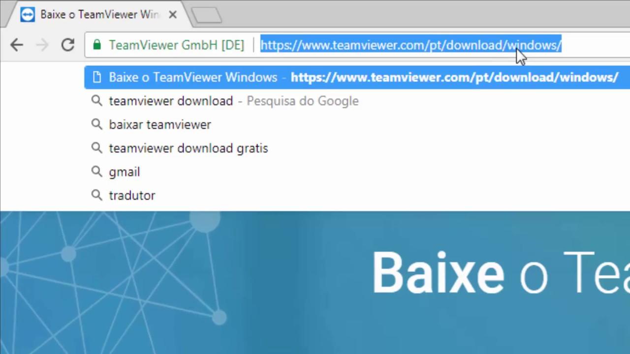 Como instalar o TeamViewer 13 - Suporte remoto
