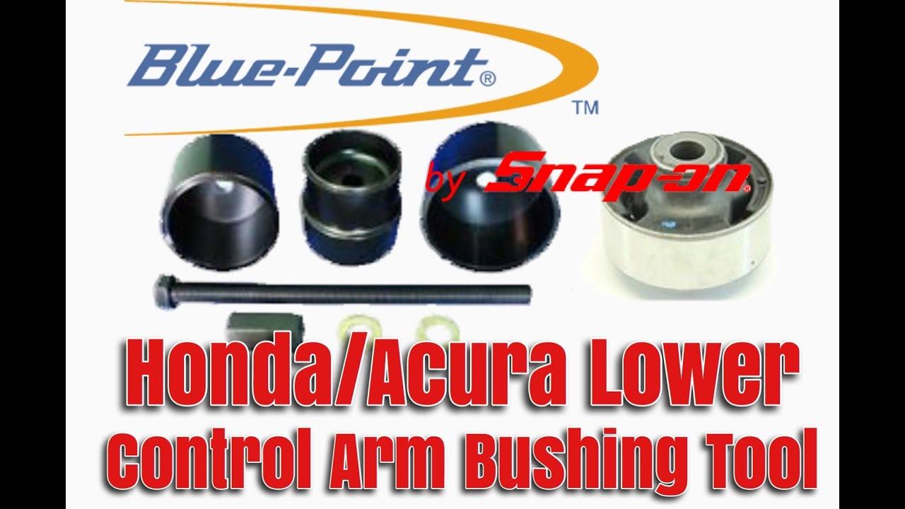 Honda Acura Lower Control Arm Bushing Tool Ya6810 Youtube