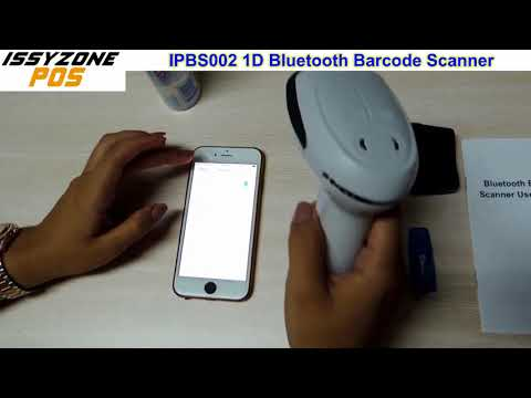 How to connect Bluetooth Barcode Scanner IPBS002 with Android Tablet iOS iPhone