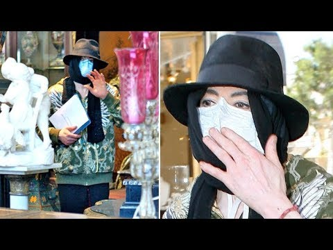 Michael Jackson Blows Kisses To His Fans While Antique Shopping In Beverly Hills [2009]