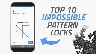 Top 10 best /phon Impossible Pattern lock [2017]😍