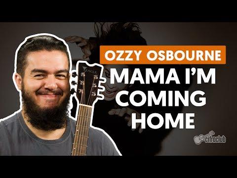 Mama I'm Coming Home - Ozzy Osbourne (aula de violão simplificada)