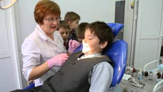 Ученики Чкаловской общеобразовательной школы №4 на приеме у стоматолога! 12