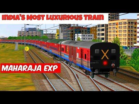 Maharaja Exp || Surat to Vapi || MSTS Open Rails || Indian train simulator