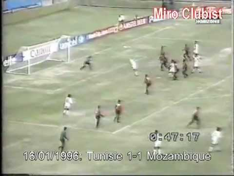 [CAN 1996] Tunisie 1-1 Mozambique (but Balha 24')