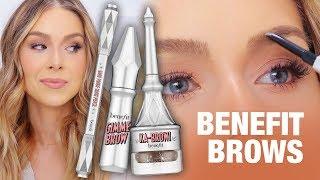 BENEFIT BROWS - Gimme Brow, Goof Proof + ka-BROW! REVIEW