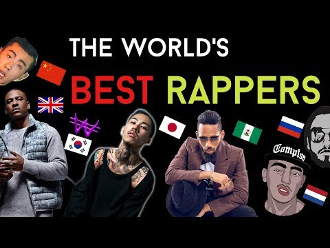 BEST RAPPERS FROM AROUND THE WORLD