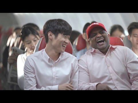 [광고CF] 박지성(Park Ji Sung)  에어아시아 가벼운 항공료 편