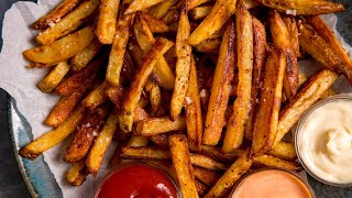 My guide to tнe ultimate Crispy Oven Baked Chips (or Fries)