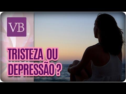 Como Diferenciar Tristeza de Depressão - Você Bonita (18/04/17)