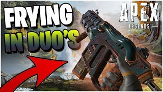FRYING With The R-99 In NEW DUO Gamemode (Apex Legends PS4)