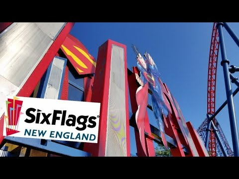 Six Flags New England 8/9/17 | A Fun Day with Steven!!