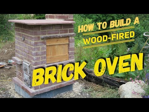 How to Build a Wood-Fired Brick Oven BBQ