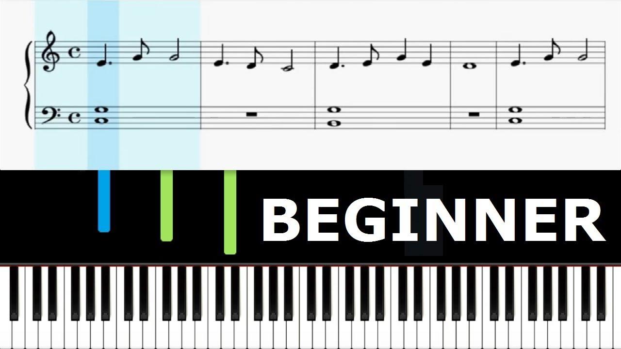 Tarantella Napoletana Piano Lesson Slow Beginner