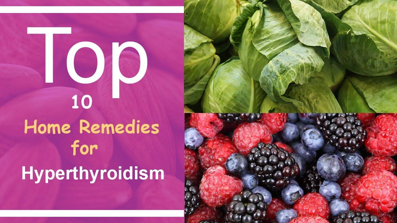 Home remedy for hyperthyroidism
