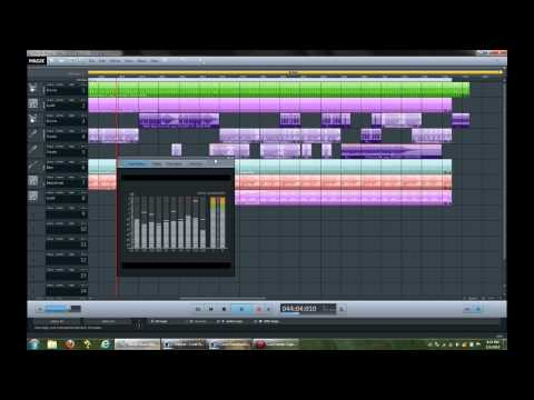 MagiX Music Maker 2014:   First try with trial software