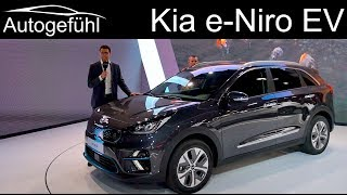 Long EV range now affordable? Kia e-Niro REVIEW all-electric eNiro - Autogefühl
