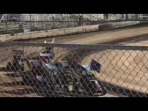 Delta Speedway 9/1/19 Jr Sprint Heat 1A- Ty