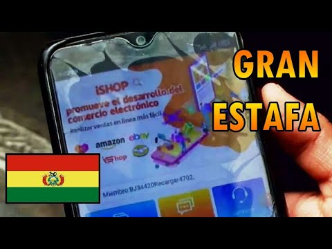 Download LA ESTAFA MILLONARIA DE ISHOP (aplicación Boliviana)