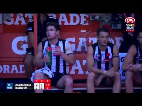 AFL ANZAC DAY Round 5 Collingwood vs Essendon