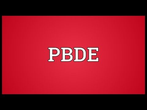 PBDE Meaning