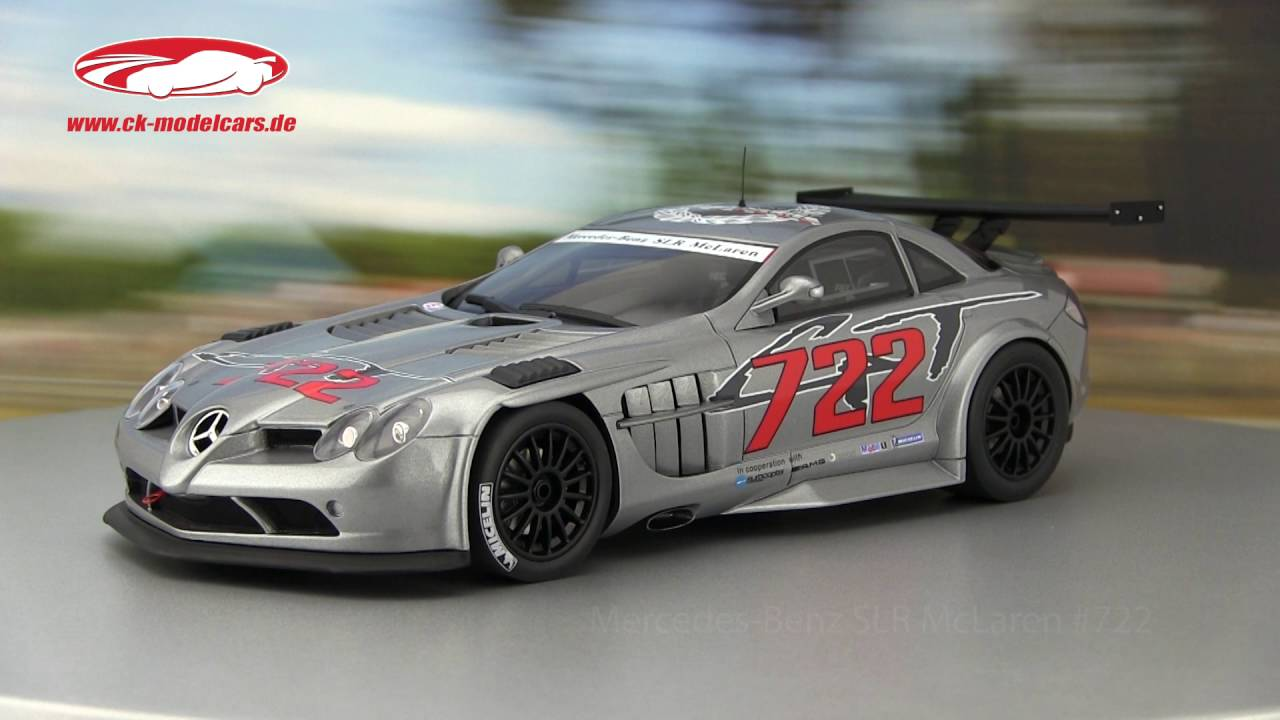 Ck Modelcars Video Mercedes Benz Slr Mclaren 722 Gt 2007