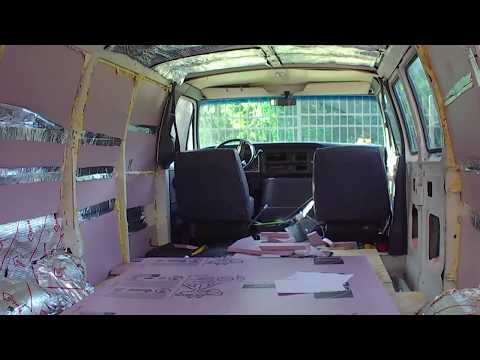 Van Bulkhead Tint and Partition supplies for the van and considering New Chairs