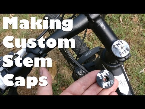 Making and Etching Mountain Bike Step Top Caps from Aluminum for TnT MTB