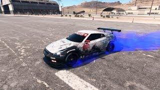 NFS Payback : Nissan GTR R35 RACE Build & Race