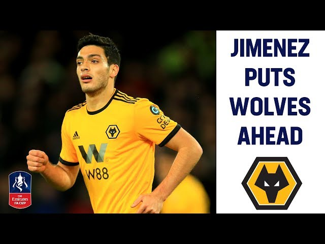 Jimenez Scores First To Put Wolves Ahead | Wolves 1-0 Liverpool | Emirates FA Cup 2018/19