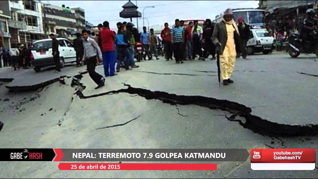 PRIMERAS IMÁGENES TERREMOTO MAGNITUD 7.9 GOLPEA NEPAL HOY 25 DE ABRIL 2015 - YouTube
