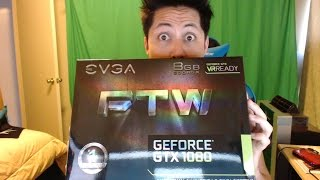 EVGA GeForce GTX 1080 FTW GAMING Unboxing Review Performance ACX 3.0