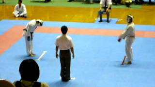 30th Okinawa Prefectural Competition - Kumite 03