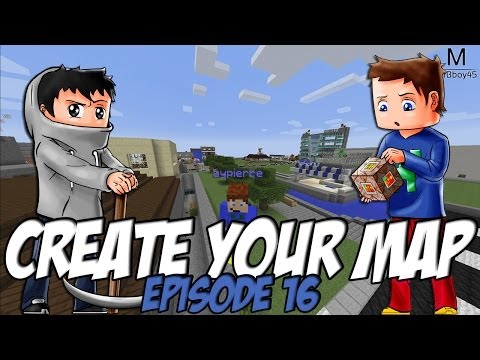 Create Your Map | Briefing avec Aypierre | Episode 16 / Minecraft