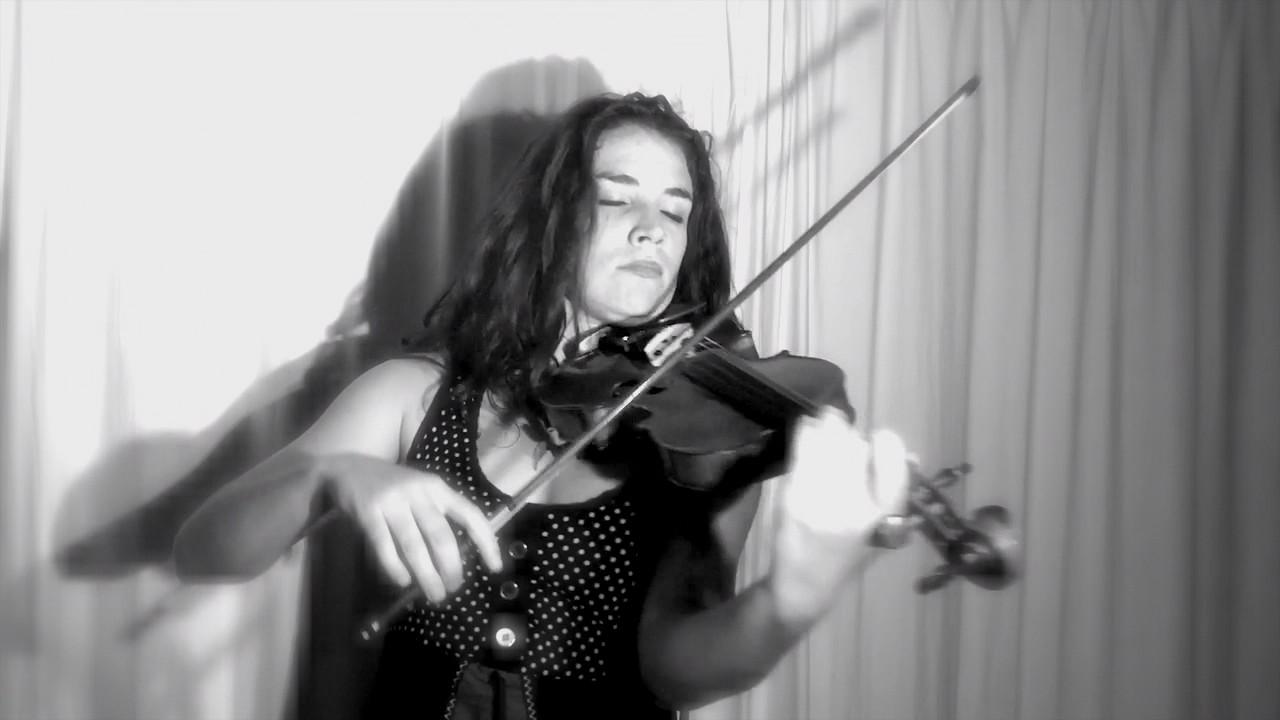Hana Maria - Chandelier (Sia violin cover) - YouTube