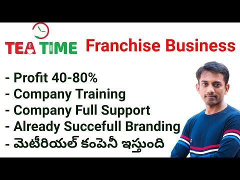 Tea Time Franchise Business Idea in Telugu⏱ Small Business Ideas in Telugu #assetmantra