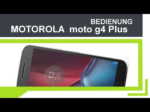 Motorola MotoG4 Plus - Bedienung