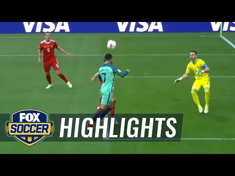 Russia vs. Portugal | 2017 FIFA Confederations Cup Highlights