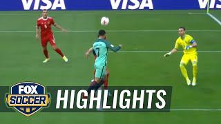 Russia vs. Portugal   2017 FIFA Confederations Cup Highlights