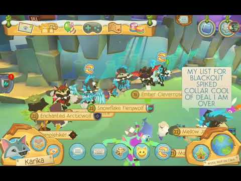Animal Jam Play Wild - Trade Attempts